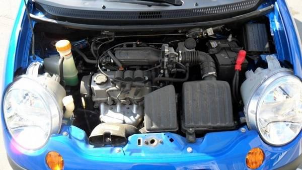 Дэу матиз ремонт двигателя