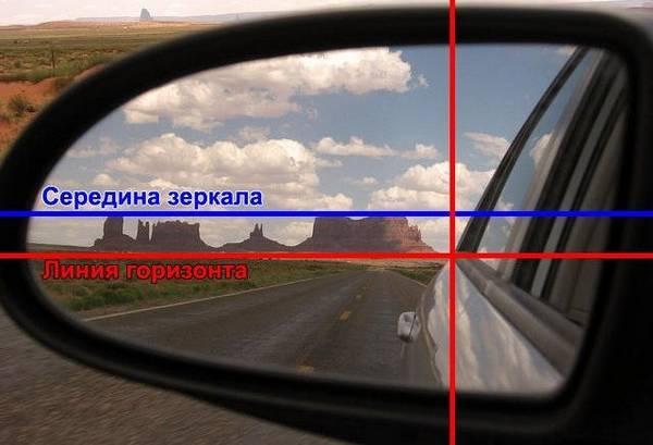kak nastroit zerkala zadnego vida sovety ot professionalnykh voditeley 2 - Настраиваем зеркало заднего вида