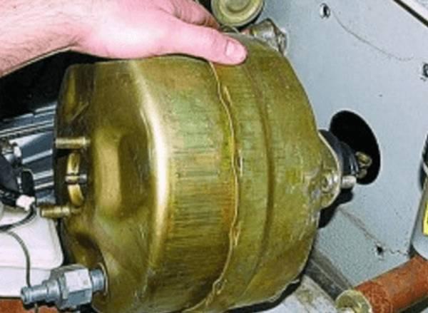 Ремонт вакуумного усилителя тормозов уаз своими руками 29