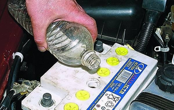 Сухозаряженный аккумулятор  обслуживание и эксплуатация