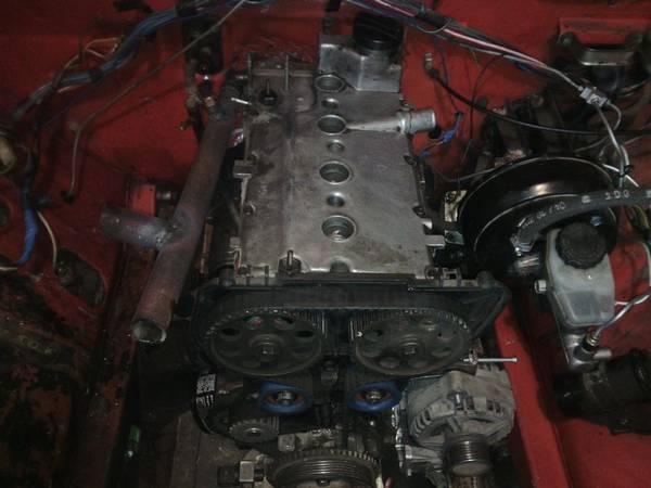 Установка 16 клапанного двигателя на классику (2107) Когда хочется тюнинга