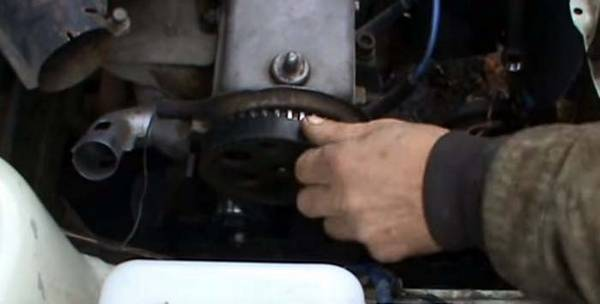 Замена помпы (водяного насоса) на ВАЗ 2108, 2109