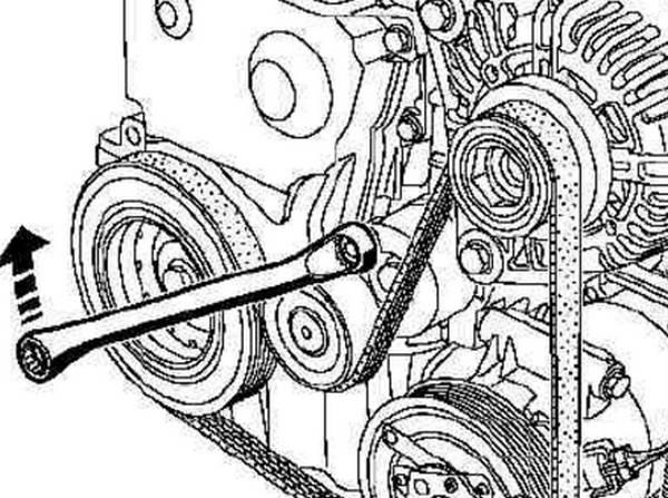 Замена ремня генератора на кашкай своими руками 54