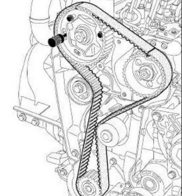 Замена ремня грм на рено дастер дизель своими руками 623